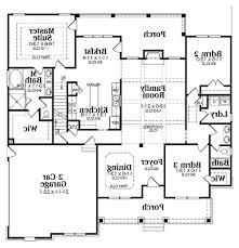 single level farmhouse plans bedroom house story