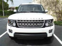 land rover lr4 white 2016 2016 land rover lr4 v6 supercharged for sale classiccars com