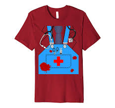 Bloody Doctor Halloween Costume Simple Halloween Costume Shirts Costumes Halloween