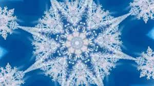 optical illusion snowflake winter amazing kaleidoscope youtube