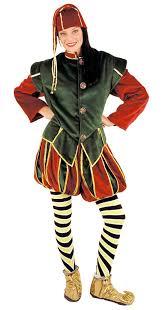 Super Deluxe Halloween Costumes Super Deluxe Christmas Elf Jester Fancy Dress Costume