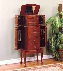 Jewelry Armoire Clearance Jewelry Armoire Special Diy Standing Jewelry Armoire Image Of