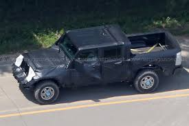 jeep truck spy photos new 2019 jeep wrangler jt pick up truck spotted by car magazine