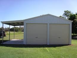 Garage Awning Kit Sheds U0026 Garages Qld U0026 Nsw Steeline Sheds Colorbond Steel