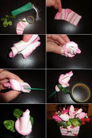diy baby shower flower bouquet diy craft projects