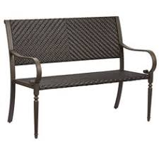 Hton Bay Swivel Patio Chairs Hton Bay Lemon Grove Stationary Wicker Outdoor Dining Chair