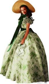 Gone With The Wind Curtain Dress Up On The Big Screen Civil War Dresses In Gone With The Wind