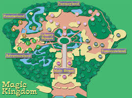 Magic Kingdom Orlando Map by Guide To The Magic