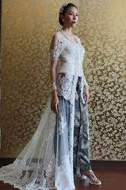 wedding dress kebaya bali fashion 2016 kebaya modern dress offwhite kebaya