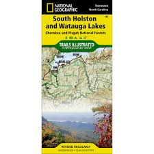 Topographical Map Of Tennessee by 783 South Holston And Watauga Lakes Cherokee And Pisgah National