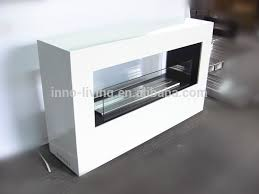 Real Fire Fireplace by On Sale White Powder Coated Ethanol Fireplace Different From