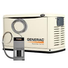 generac power pact 6437 11 000 watt air cooled steel enclosure