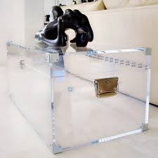 Clear Console Table Table Lucite Trunk Coffee Table Awesome On Ideas Plus Acrylic