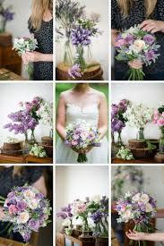 theme wedding bouquets a bridal bouquet in purple pink chic vintage