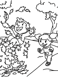coloring pages of autumn fall coloring pages bing images autumn pinterest kids colouring
