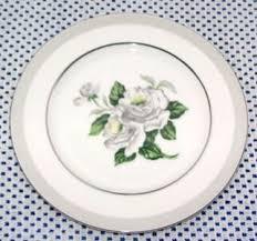 china made in japan white china white pattern 3939