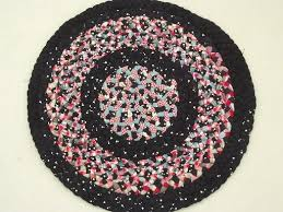 Small Round Braided Rugs Vintage Braided Rugs Roselawnlutheran