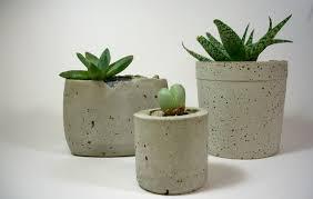 Small Desk Plants by Cute Different Size Small High Quality Desk Bonsai Pot Concrete