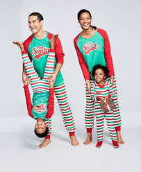 family pajamas team santa pajama sets created for macy s