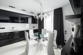 Kitchen Design Black And White Black And White Graphic Decor