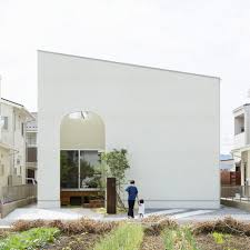 Home Design In Japan Japanese House By Mamm Design Features Long Narrow Mezzanine