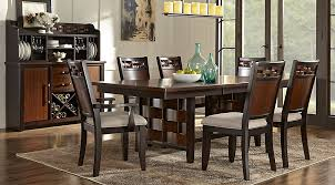 cherry wood dining table and chairs fascinating bedford heights cherry 5 pc dining room sets dark wood