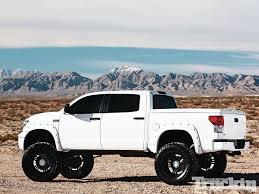 white toyota truck 2008 toyota tundra fever pitch lifted trucks truckin magazine