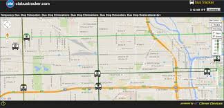 Chicago Transit Map by Garage Operation Route 992 Now Viewable Cta Bus Chicago
