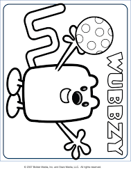 mailman coloring pages nick jr u0027s wow wow wubbzy familycorner com forums