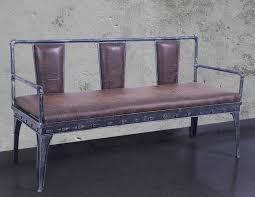 sofa chair metal long chair bench u2013 manufacturer restaurant