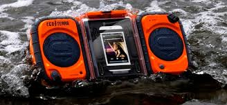 Ecoxgear Rugged And Waterproof Stereo Boombox Grace Digital Eco Terra Boombox Ecoustics Com