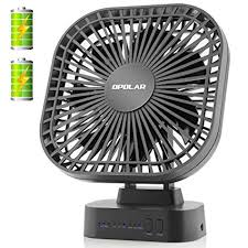 battery operated fan with timer amazon com opolar battery operated desk fan with large capacity of