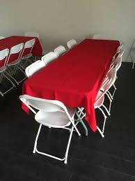 table and chair rentals party tables chair rentals huntington ca surf city
