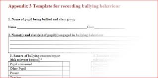 pupil report template anti bullying policy holy rosary primary schoolholy rosary