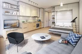 studio unit condo interior design decor color ideas contemporary