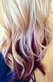 blonde and burgundy hairstyles gallery burgundy hair with blonde streaks black hairstle picture