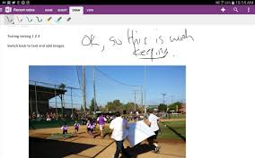 Onenote For Android Tablets Added With Handwriting Support Pcworld
