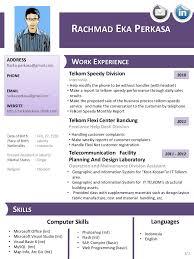 gis resume sample rachmad eka perkasa cv