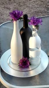 wine bottle plates best 25 bottle centerpieces ideas on wine bottle