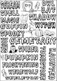 fun halloween activity worksheets u2013 fun christmas