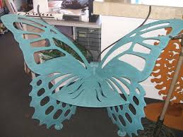 Butterfly Bench Butterfly Decor Bench Lee U0027s Barbeque Grill Center