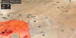 Palmyra Syria Map by Syrian Army Recaptures Palmyra Grain Silos