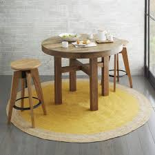 Outdoor Jute Rug Dining Room With Round Table And Stools Also Jute Rug Natural