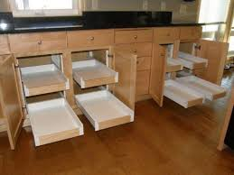 installing pull out drawers in kitchen cabinets pull out shelves baskets drawers these are just a few ideas where