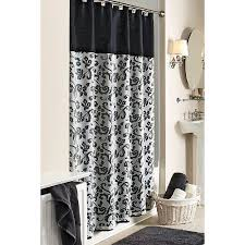 Better Homes And Gardens Bathroom Accessories Walmart Com by Better Homes And Gardens Damask Fabric Shower Curtain Walmart Com