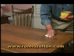 wax for wood table how to clean and wax a wood table youtube