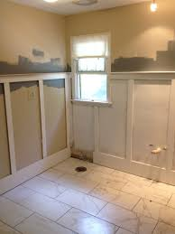 bathroom cool ideas for your lovely using wainscoting small bathroom remodels wainscoting ideas