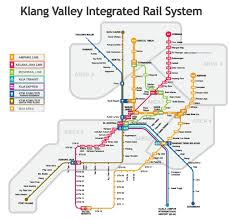6 Train Map Kuala Lumpur Rail Map
