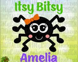 itsy bitsy spider etsy