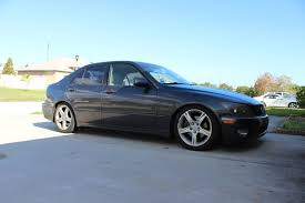 lexus is300 wheels bc coilovers extreme drop on stock wheels lexus is forum